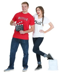 netflix chill meme halloween costume