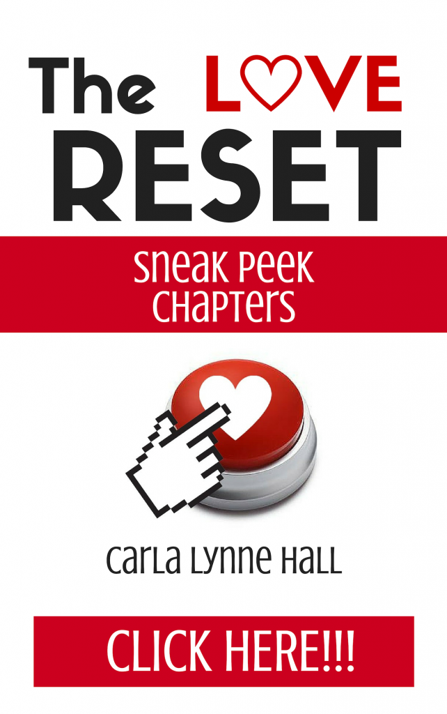 The LOVE Reset Book Cover - Sneak Peek Optin