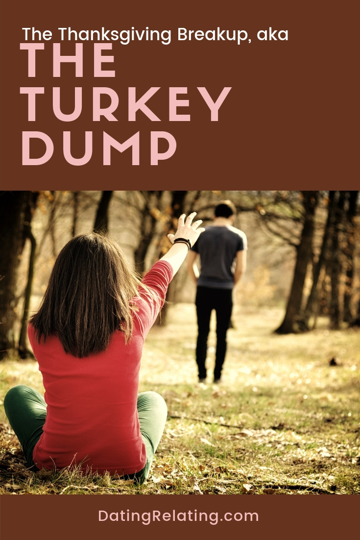 thanksgiving break up turkey dump